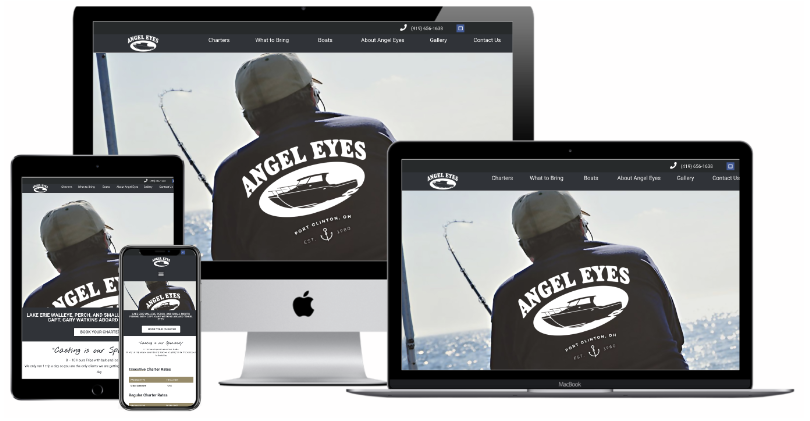 Angle Eyes Charter Website