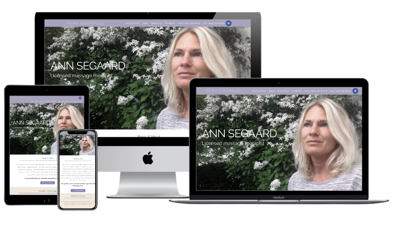 Ann Segaard Website