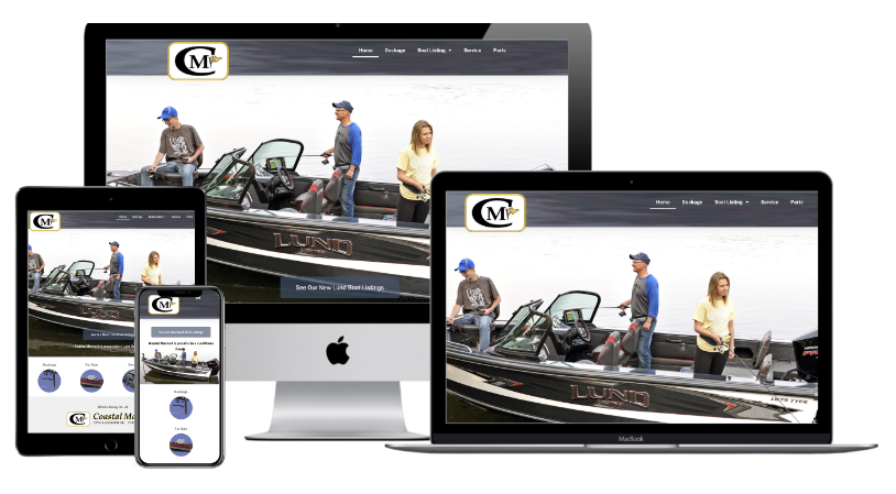 Coastal Marine II Website