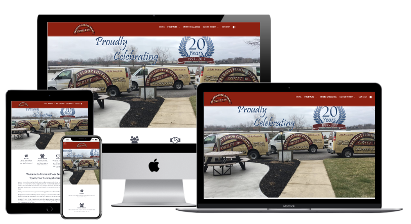 Fremont Floor Covering Website