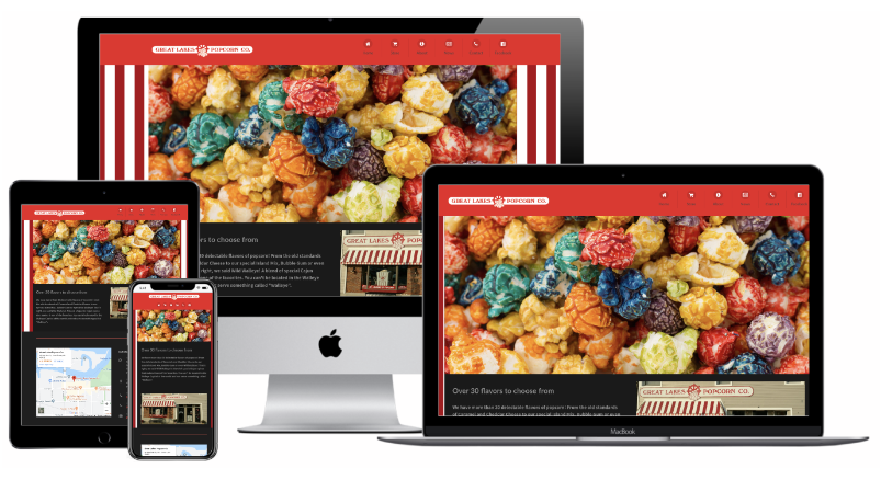 Greatlakes Popcorn Website