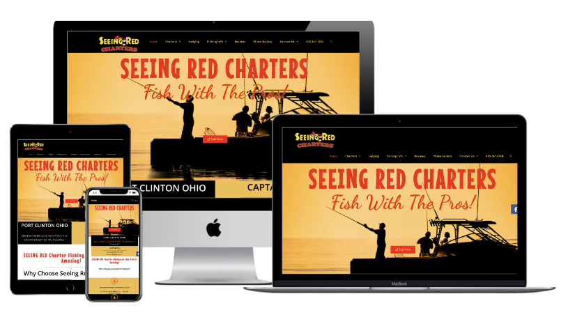 Seeing Red Charters Website