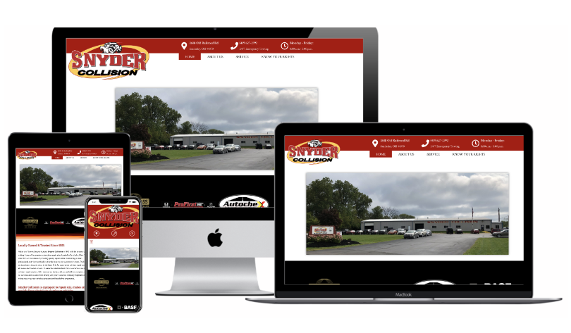 Snyder Collision Website
