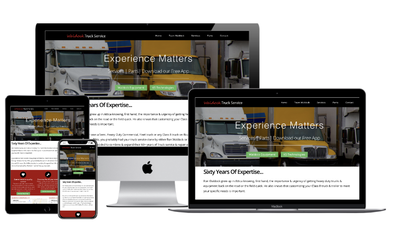 Waldock Truck Service Website